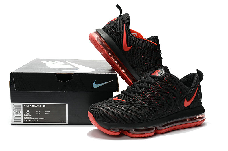 Wholesale Cheap Nike Air Max 2019 Mens University Red Black - www.wholesaleflyknit.com