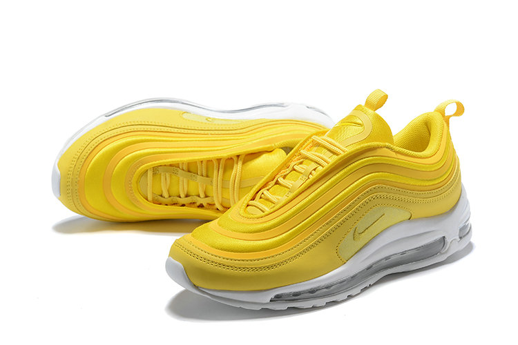 Cheap Wholesale Nike Air Max 97 Running Shoes Yellow White- www.wholesaleflyknit.com