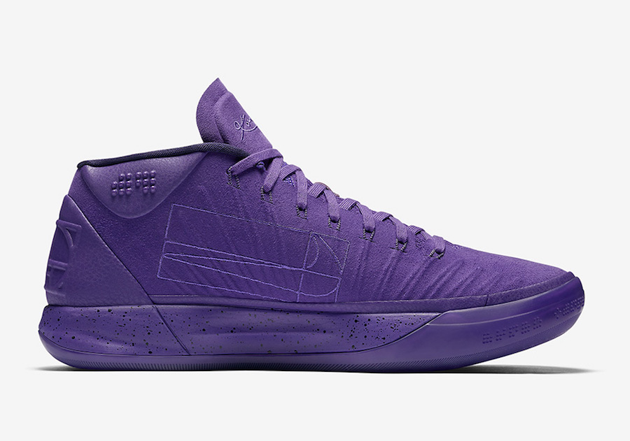 Wholesale Cheap Nike Kobe A.D. Mid Fearless Purple For Sale - www.wholesaleflyknit.com