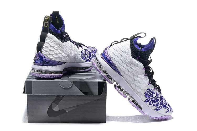 Cheap Wholesale Nike LeBron 15 Purple Rain PE- www.wholesaleflyknit.com