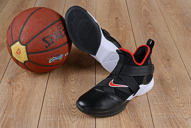 7ad657f60b7 Wholesale Cheap Nike Lebron Soldier 12 (XII) Fire Red White Black - www.