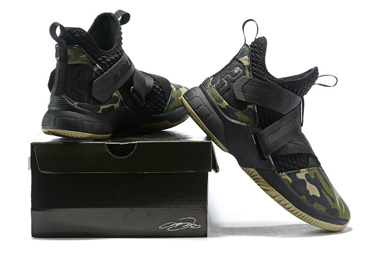 521f7969d1f6 ... Cheapest Wholesale Nike Lebron Soldier 12 Army Green Black -  www.wholesaleflyknit.com