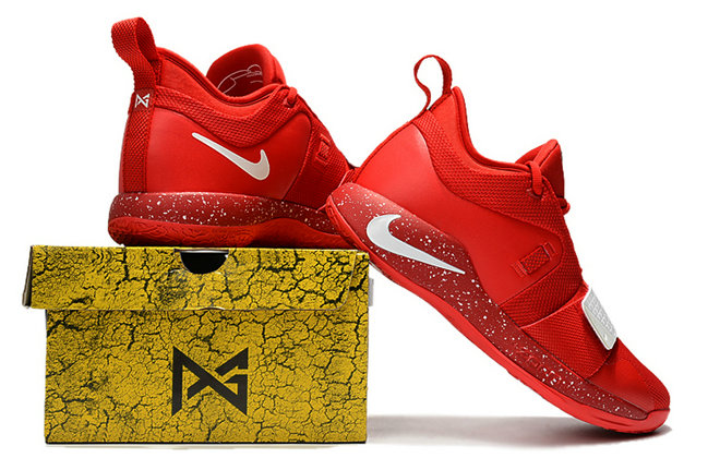 aa2d1a11bd00 ... Cheap Wholesale Nike PG 2.5 China Red White On www.wholesaleoffwhite.com