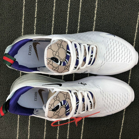 best service ce660 9e40f Wholesale Nike AIR MAX 270 Flyknit AH8050-032 White Purple Blanc Purple On  www.