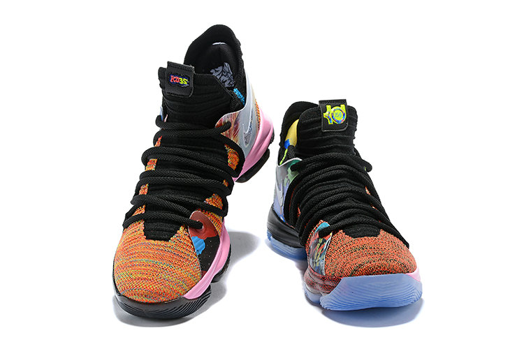 Cheap Wholesale Nike KD 10 What The PE Mens Basketball Shoes - www.wholesaleflyknit.com