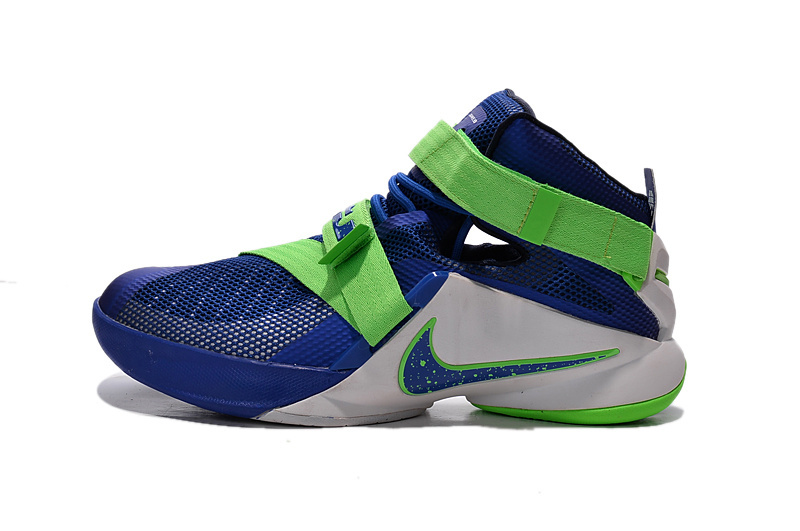 Wholesale Cheap Nike LeBron Soldier 9 Sprite Basketball Shoe - www.wholesaleflyknit.com