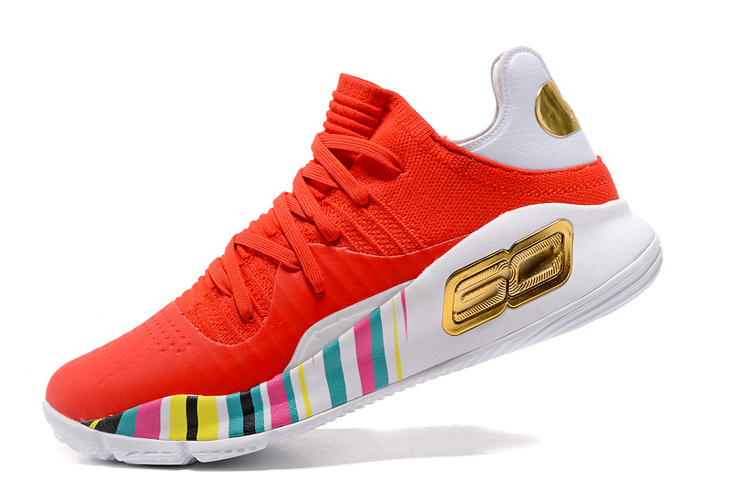 Wholesale Cheap Under Armour Curry 4 Low Year of the Rooster 2017 For Sale - www.wholesaleflyknit.com