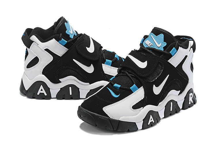 Where To Buy Cheap Wholesale Nike Air Barrage Mid Black White-Cabana AT7847-00 - www.wholesaleflyknit.com