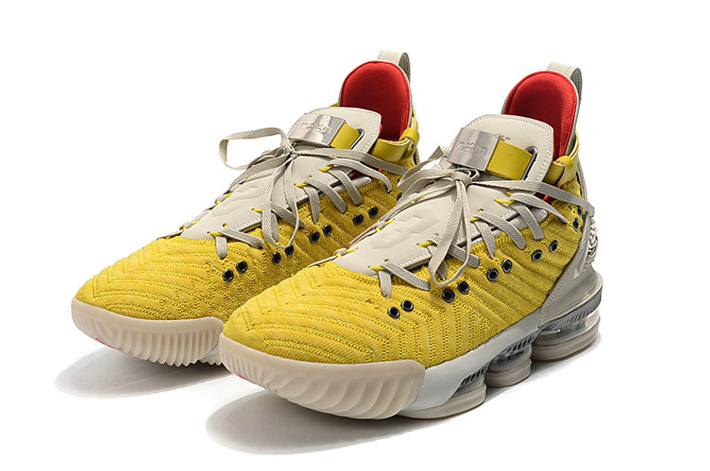 Where To Buy Wholesale Cheap Nike LeBron 16 HFR Bright Citron Summit White CI1145-700 - www.wholesaleflyknit.com