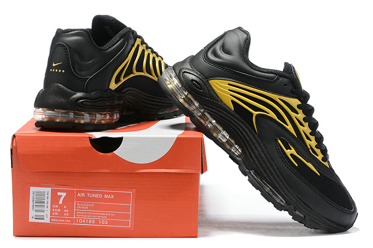 Where To Buy Wholesale Cheap Nike Air Tuned Max 2019 Black Gold - www.wholesaleflyknit.com