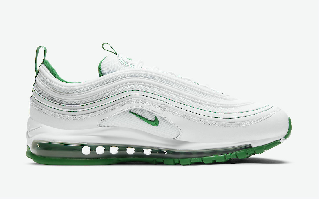 Where To Buy Womens 2021 Cheapest Nike Air Max 97 White Pine Green DH0271-100 - www.wholesaleflyknit.com